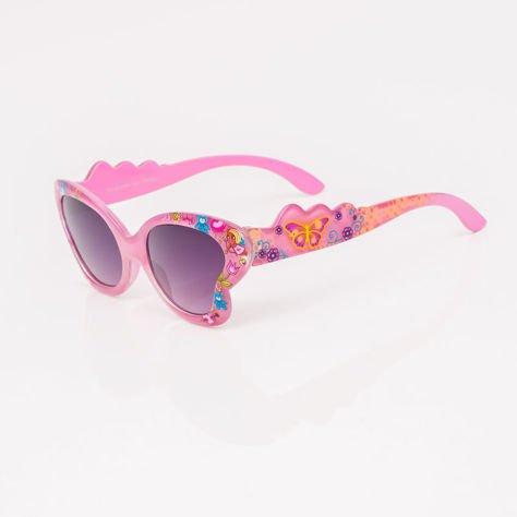 Różowe Dziecięce Okulary przeciwsłoneczne MOTYL                              zdj.                              2
