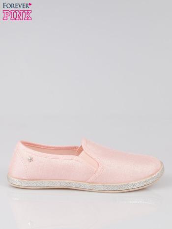 Różowe buty slip-on                                  zdj.                                  1