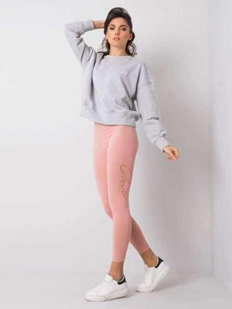 Różowe legginsy Jilly RUE PARIS