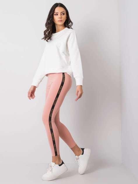 Różowe legginsy Vicki RUE PARIS