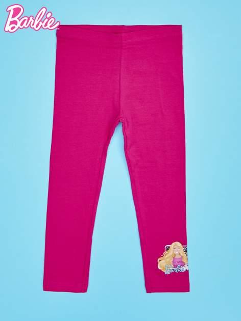 Różowe legginsy dla dziewczynki BARBIE                                  zdj.                                  1