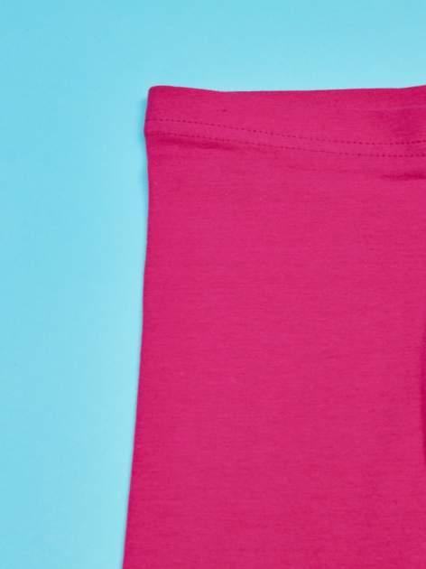 Różowe legginsy dla dziewczynki BARBIE                                  zdj.                                  3