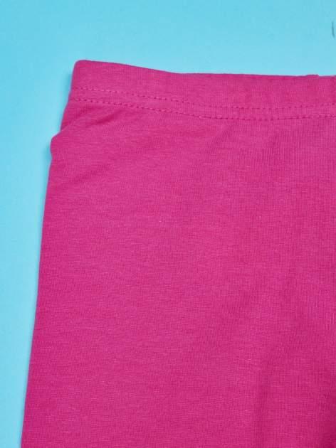 Różowe legginsy dla dziewczynki motyw MY LITTLE PONY                                  zdj.                                  3