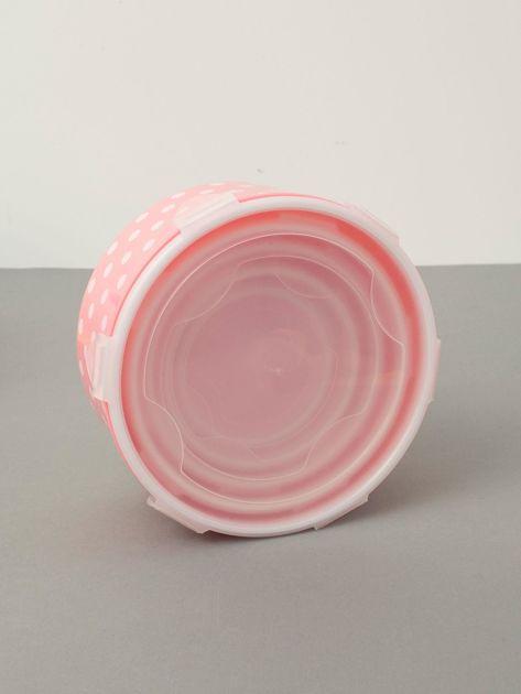 Różowe pojemniki na żywność                              zdj.                              4