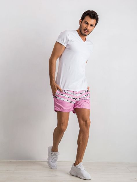Różowe szorty męskie Travis                              zdj.                              4