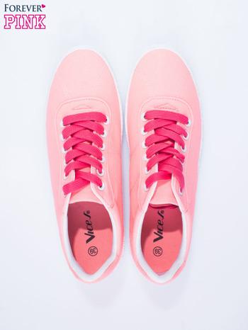 Różowe trampki w stylu casual                                  zdj.                                  6