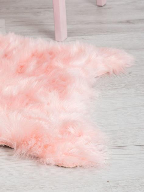Różowy dywanik shaggy                              zdj.                              2