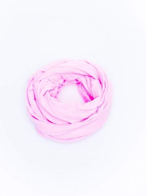 Różowy gładki komin                                  zdj.                                  2