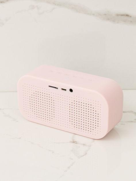 Różowy głośnik bluetooth                              zdj.                              4