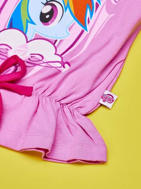 Różowy komplet do spania dla dziewczynki MY LITTLE PONY                                  zdj.                                  5