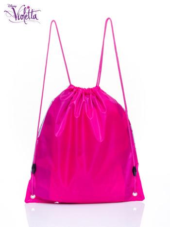 Różowy plecak worek DISNEY Violetta                                  zdj.                                  2