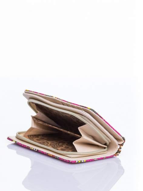 Różowy portfel w sówki                                  zdj.                                  4