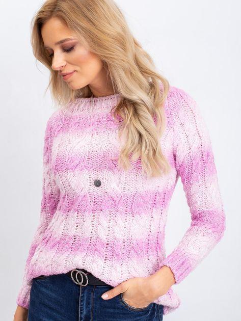 Różowy sweter Tracey                              zdj.                              5