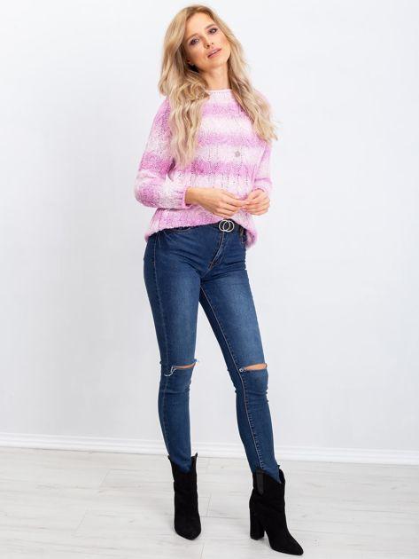 Różowy sweter Tracey                              zdj.                              4