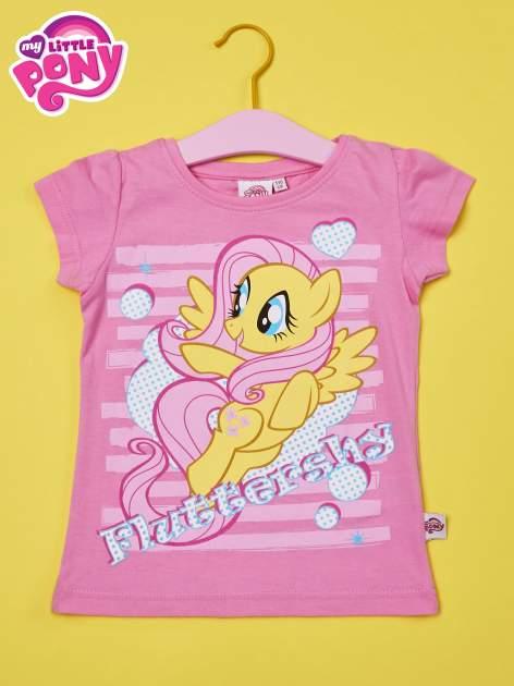 Różowy t-shirt dla dziewczynki MY LITTLE PONY                                  zdj.                                  1