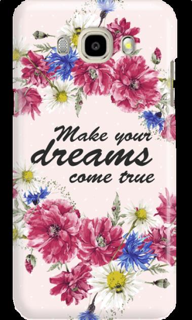 SAMSUNG J5 2017 DREAMS FLOWERS