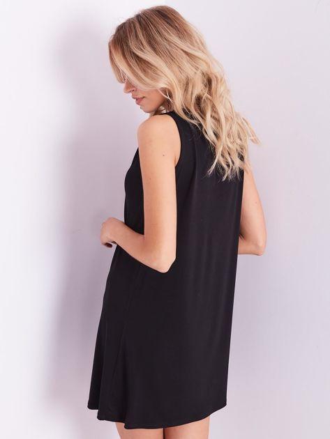 Czarna sukienka z koronką                              zdj.                              11