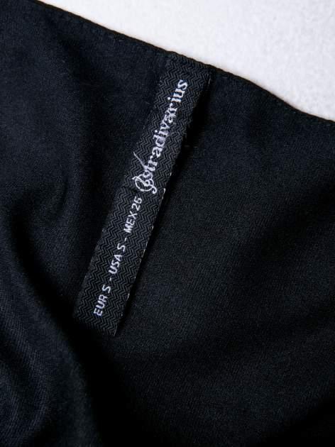STRADIVARIUS Czarny top z cekinami                                  zdj.                                  3