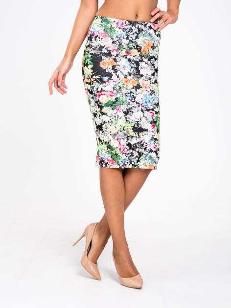 STRADIVARIUS Spódnica midi w kwiaty