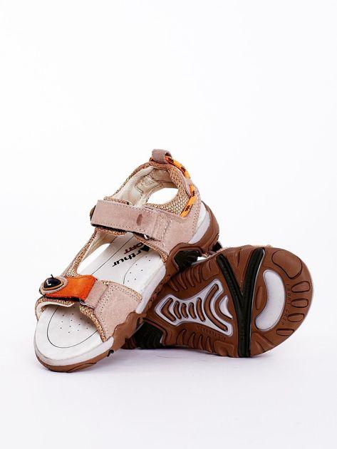 Sandały dziecięce beżowe