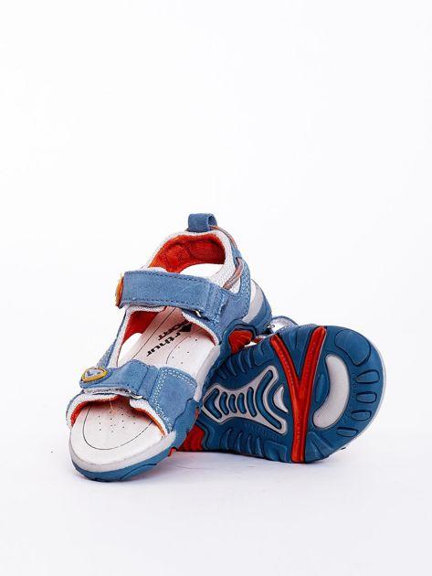 Sandały dziecięce niebieskie