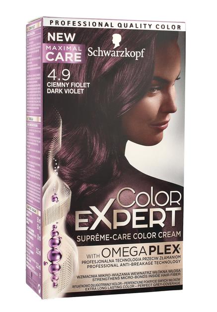 """Schwarzkopf Color Expert Krem koloryzujący do włosów nr 4.9 Ciemny Fiolet  1op."""""""