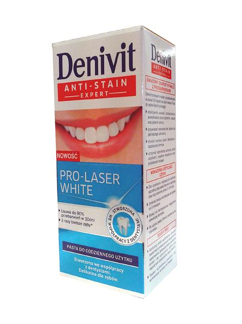 "Schwarzkopf Denivit Pasta do zębów Pro-Laser White 50ml"""