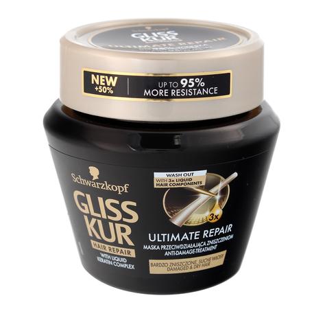"""Schwarzkopf Gliss Kur Ultimate Repair Maska do włosów suchych i bardzo zniszczonych  300ml"""""""