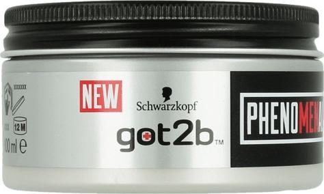 """Schwarzkopf Got2b Phenomenal Męska Pasta do stylizacji włosów 100 ml"""""""