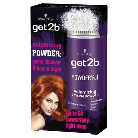 """Schwarzkopf Got2b Powder Volumizing Styling Puder stylizujący dla pań  10g"""""""