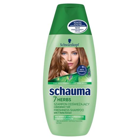 """Schwarzkopf Schauma Szampon do włosów 7 Herbs 250ml"""""""
