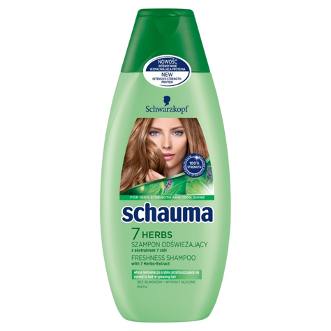 """Schwarzkopf Schauma Szampon do włosów 7 Herbs  400ml"""""""
