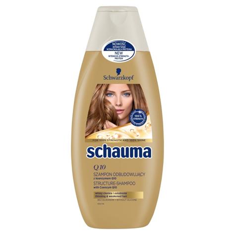 """Schwarzkopf Schauma Szampon do włosów Odbudowujący Q10 400ml"""""""