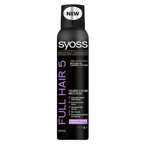 """Schwarzkopf Syoss Full Hair 5D Pianka do włosów 250 ml"""""""