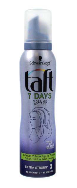 """Schwarzkopf Taft 7Days Pianka do włosów Volume extra mocna  150ml"""""""