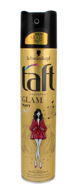 """Schwarzkopf Taft Glam Styles Wavy Lakier do włosów extra strong  250ml"""""""