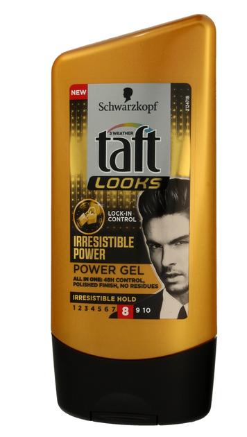 """Schwarzkopf Taft Looks Irresistible Power Żel do włosów stylizujący  130 ml"""""""