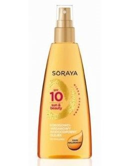 Soraya Sun Care Olejek do opalania SPF 10 kokosowo-arganowy 150 ml
