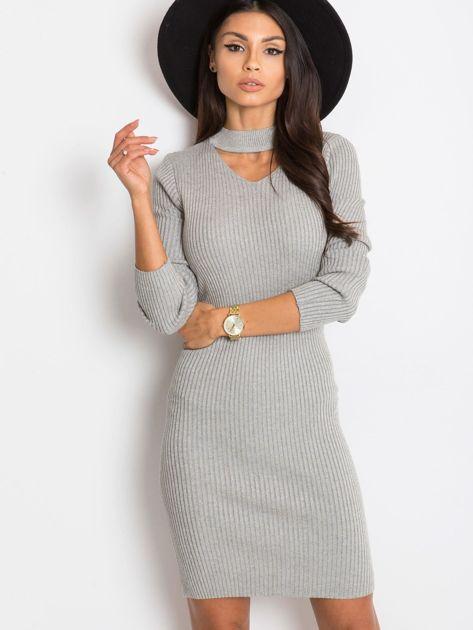 Srebrna sukienka Blink                              zdj.                              1