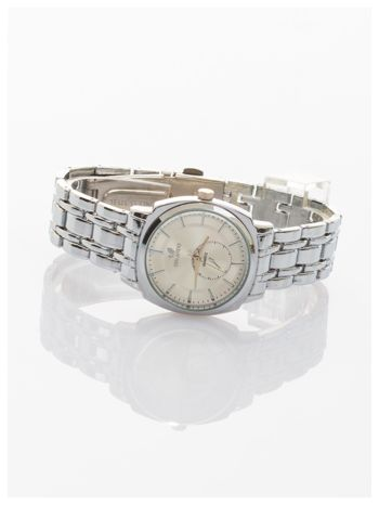 Srebrny damski zegarek. Bardzo kobiecy. Mała tarcza. Delikatny.                                  zdj.                                  2