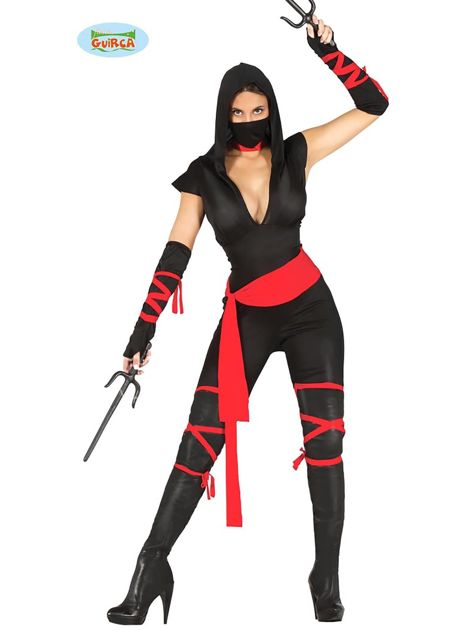 Strój karnawałowy Kobieta Ninja                              zdj.                              1