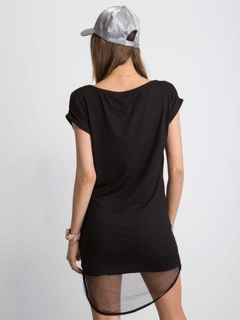 Czarna sukienka Glistening                              zdj.                              2