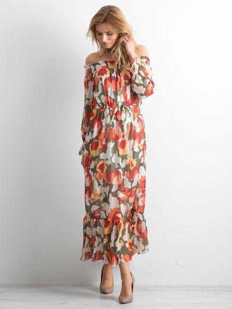 Sukienka hiszpanka we wzory                              zdj.                              4