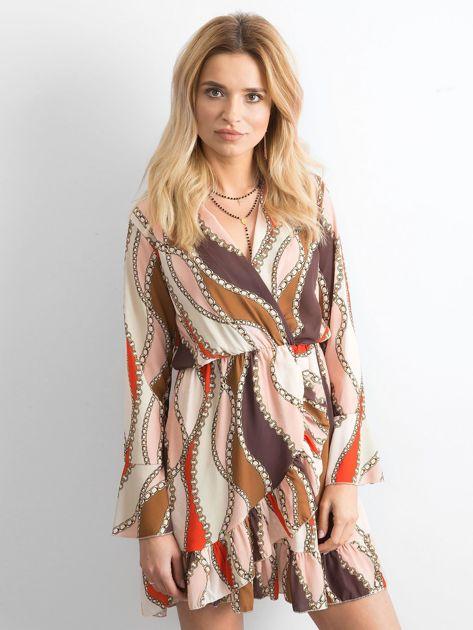 Sukienka we wzory                               zdj.                              1