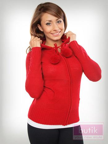 Sweter z kapturem                                  zdj.                                  1