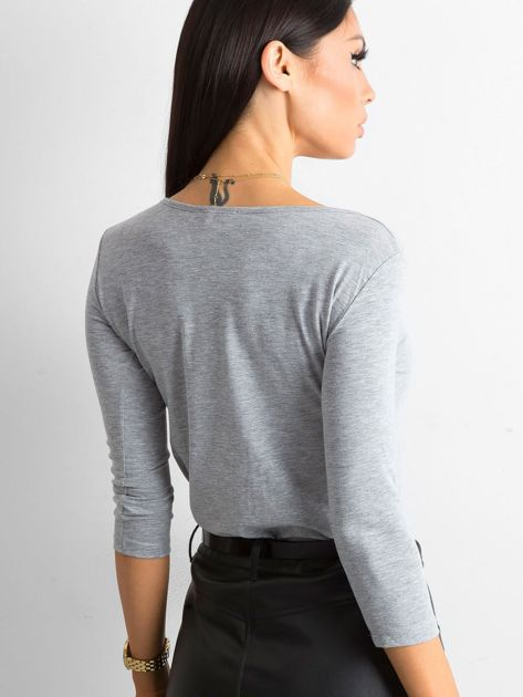 Szara bluzka Mona                              zdj.                              2