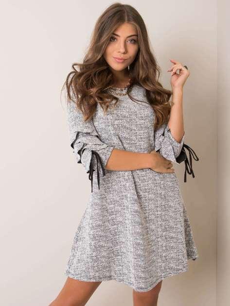 Szara melanżowa sukienka Maggie SUBLEVEL