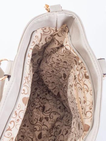 Szara pikowana torba na ramię                                  zdj.                                  11