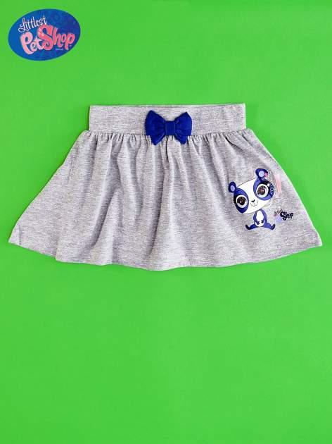 Szara spódnica dla dziewczynki LITTLEST PET SHOP                                  zdj.                                  1