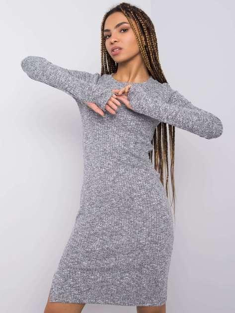 Szara sukienka Thandie RUE PARIS